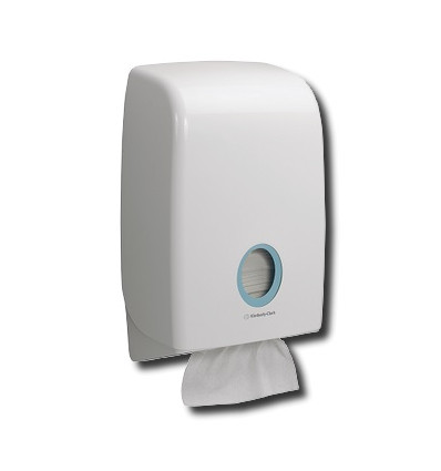 DISPENSADOR TOALLA AQUARIUS BLANCO
